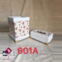 فروش عمده سطل و جا دستمال کاغذی گلدار