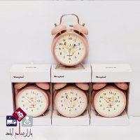 فروش عمده ساعت شماطه طرح سنگی
