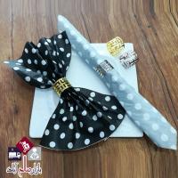 فروش عمده حلقه دستمال طرح ورساچه