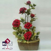 فروش عمده گلدان گل رز قرمز