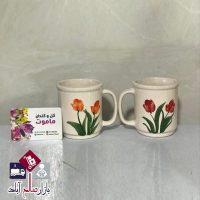 فروش عمده گلدان سفالی مدل لیوان