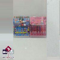 فروش عمده مداد شمعی ۱۲ رنگ پیچی