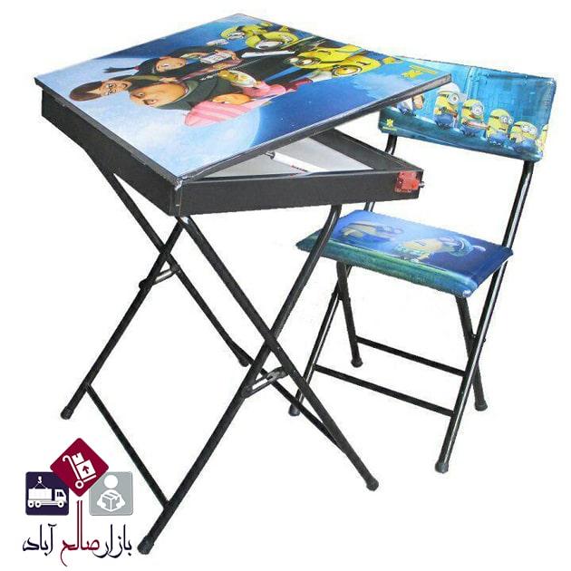 فروش عمده میز و صندلی تاشو کودک