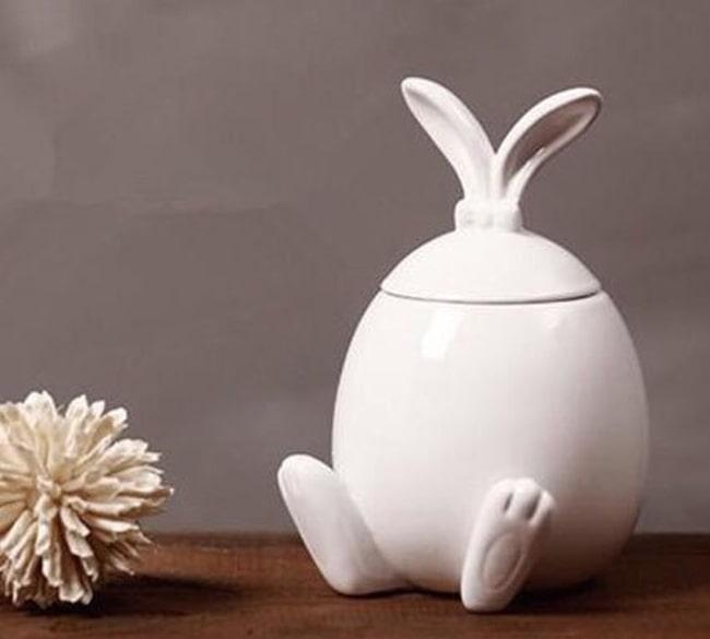 خرید عمده ظرف شکلات خوری طرح خرگوش