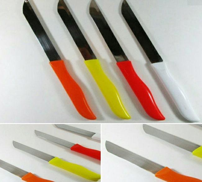 خرید عمده چاقو اره ای رنگی زولینگن