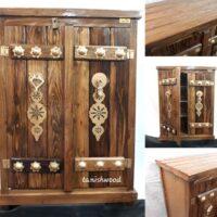خرید عمده جاکفشی چوبی طرح سنتی
