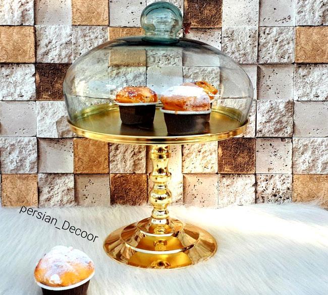 خرید عمده ظرف کاپ کیک پایه بلند