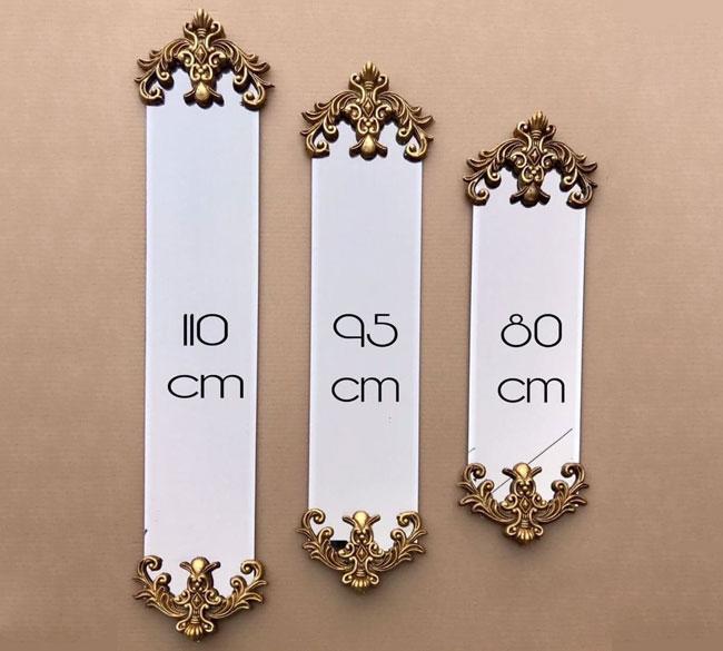 خرید عمده آینه دیواری ۳ تکه دکوراتیو
