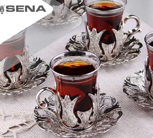 خرید عمده سرویس چای خوری گل لاله سنا