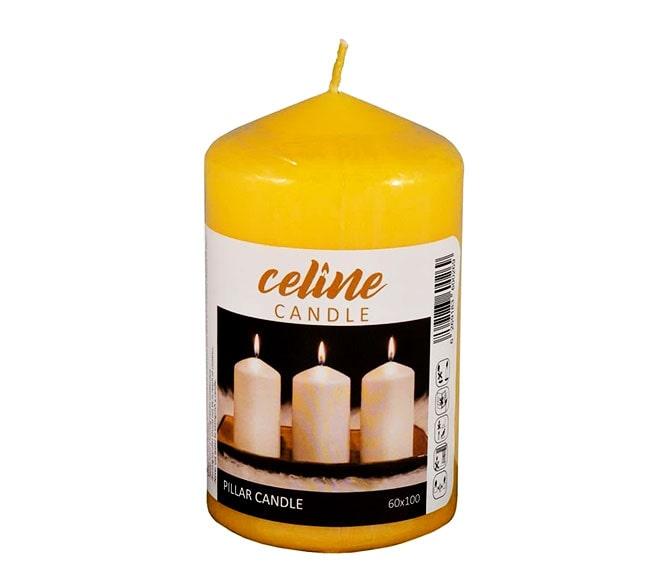 خرید عمده شمع استوانه ای رنگی ساده
