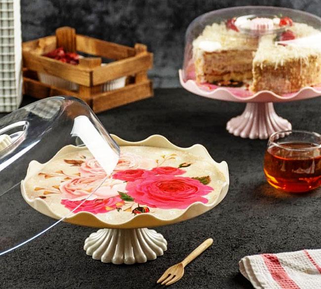 خرید عمده ظرف کاپ کیک پایه دار