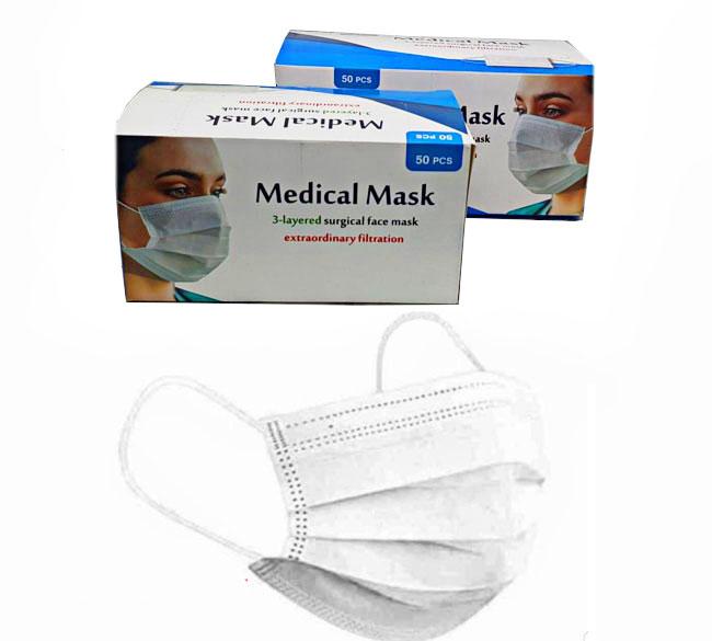 خرید عمده ماسک پزشکی سه لایه